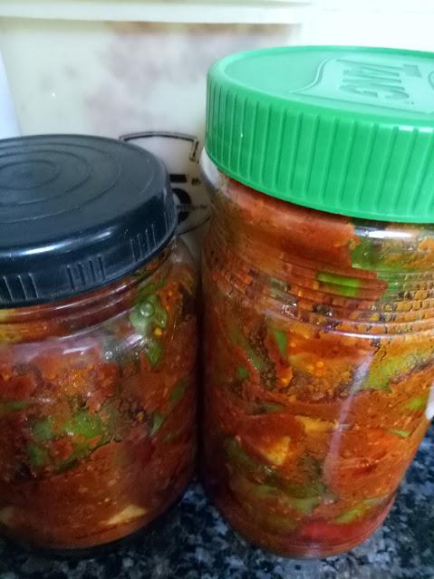 Easy Mango pickle recipe