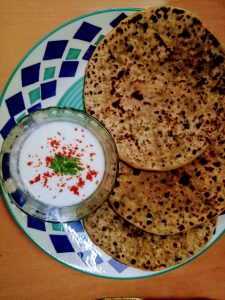 Moong Parathas made using Aashirvaad Multigrain Atta