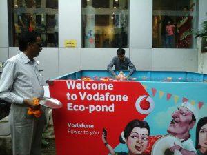 Vodafone Eco-Ponds