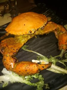 Chilli Corriander Crab