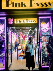 pink pvssy outlet at Sukhumvit