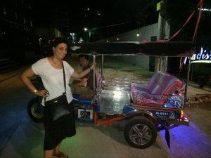 Auto rickshaw in bangkok