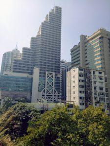 bangkok skyline from radisson
