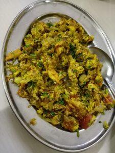 bhurji pav