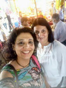 Selfie at Colaba Causeway, South Mumbai