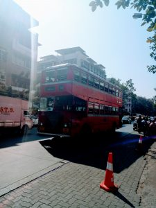 Double Decker bus in Mumbai