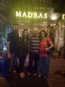 Madras diaries