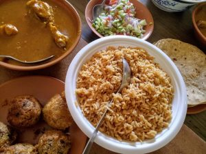 Dhansak and Kababs