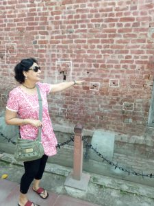 Historic Jalian wala Bagh Wall