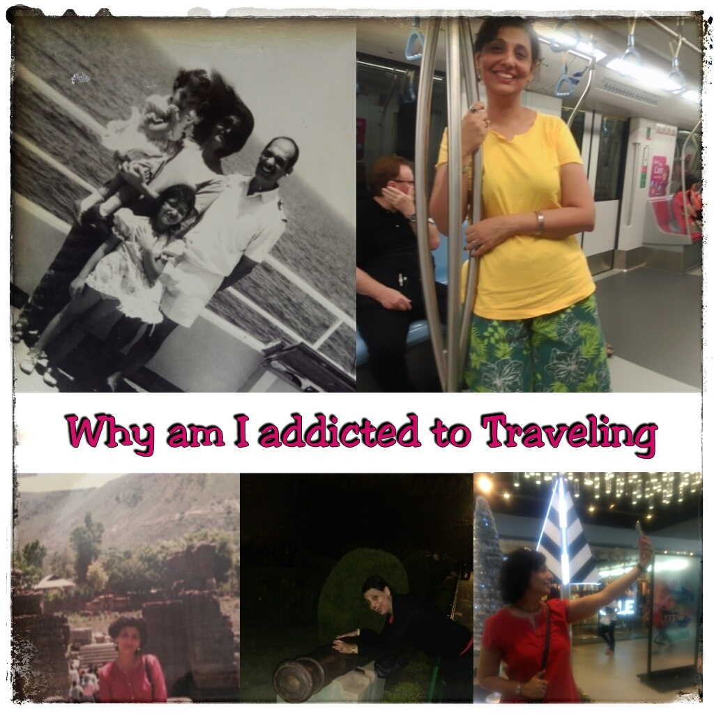 travel addict meaning
