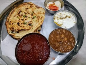 Traditional Punjabi Thali
