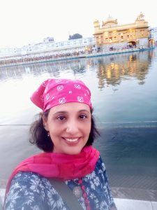 Selfie at Golden Temple