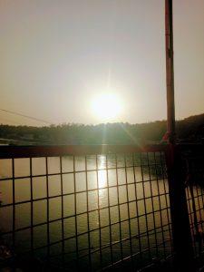 Sunset at Ram Jhula