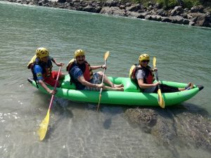 river rafting at rishikesh
