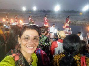selfie at ghat