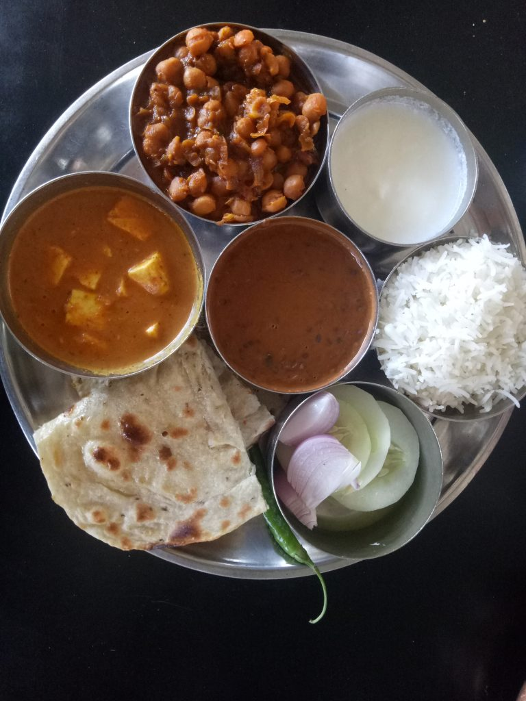 Local Cuisine Thali