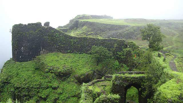 korigad fort Best Places to Visit in Monsoon near Mumbai