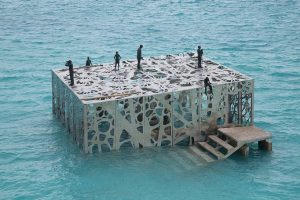 Coralarium, world's first inter tidal art museum