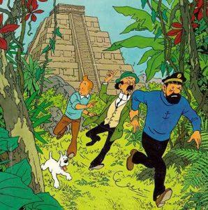 Tintin Machu Picchu adventure