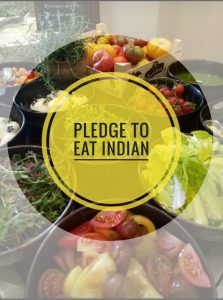 Pledge to Eat Indian