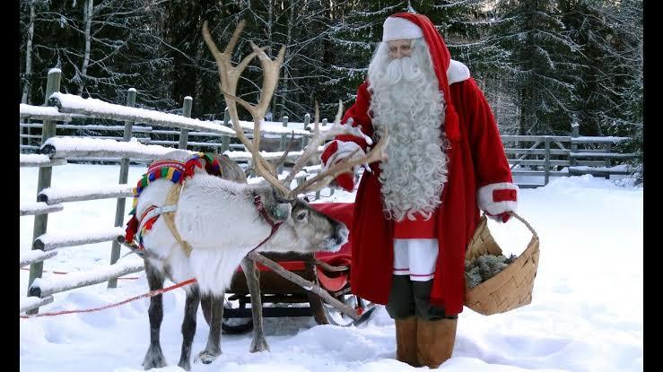 Santa Claus in Lapland