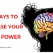 ways to increase brain power